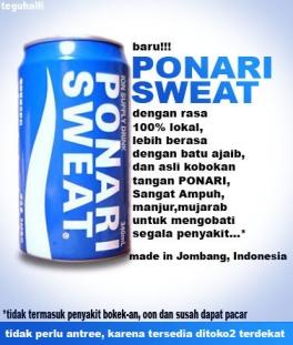 ponari-sweat cara sesat untuk sekarat